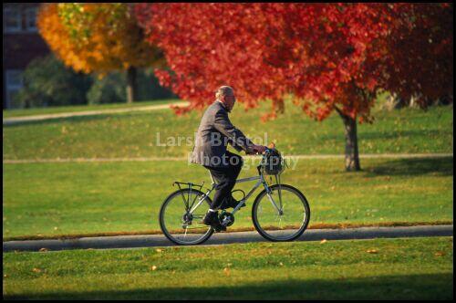Professor on Bike