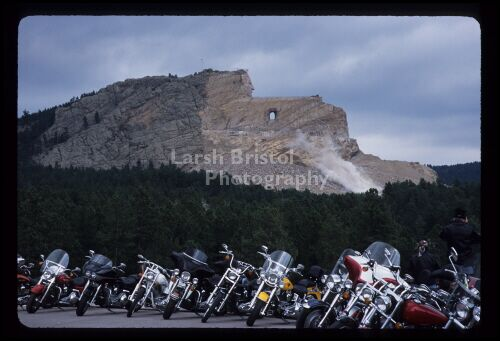 Crazy Horse and Motorcycles