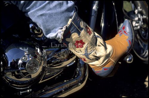 Riding With Boots