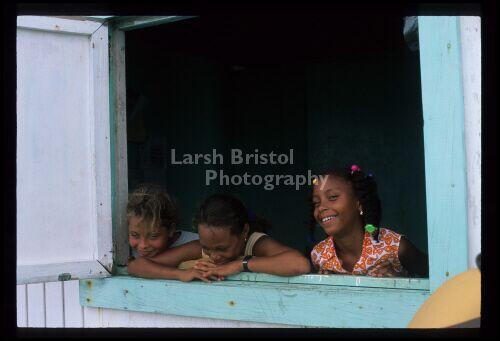 Children in Window