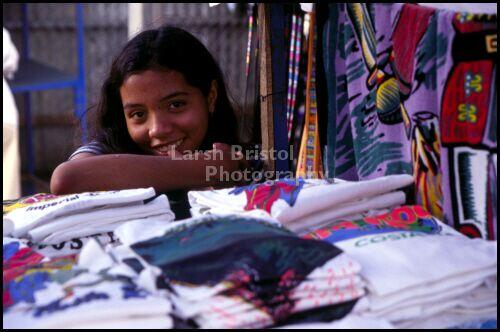 Girl at a Market