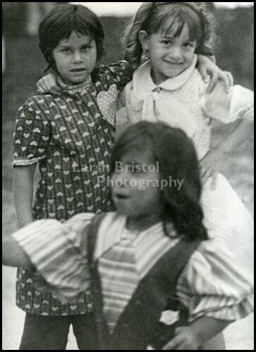 Blackhawk Gypsy Girls Posing for Camera
