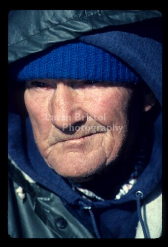 Close-up of Commercial Fisherman's face