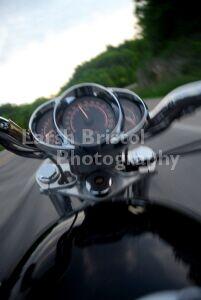 Photo: Motorcycle Speedometer by Larsh Bristol
