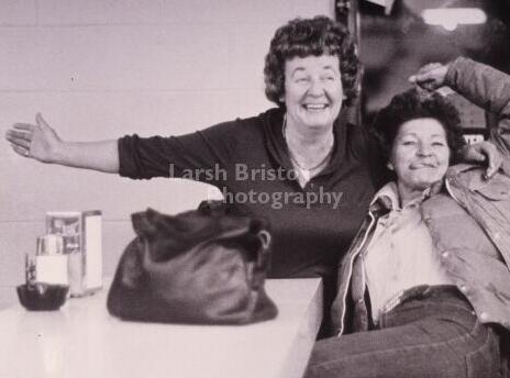 Photo: Picturing Alpine-Ethel&Dotty-1977